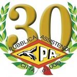 Logo 30 anni P.A. Lugo